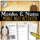 Middle Ages Activity - Journal for a Monk or a Nun