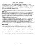 Journalism: Sports Writing Notes & Activity for Newspaper