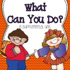 Journeys 1st Grade~What Can You Do? {Unit 6, Lesson 27}