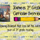 Journeys 1st grade Curriculum Overview