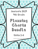 Journeys 2014 4th Grade, BUNDLE Skills Planning Charts