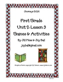 Journeys 2014 First Grade Unit 2 Lesson 9 Games and Activities