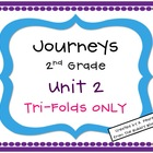 Journeys 2nd Grade Unit 2 Tri-Folds Only