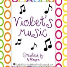 Journeys 2nd Grade- Violet's Music Unit 3, Lesson 12