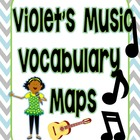 Journey's 2nd Grade Violet's Music - Vocabulary Maps