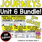 "Journeys 5th Grade Unit 6 ""Journey to Discovery"" Supplemen"