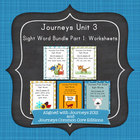 Journeys First Grade Sight Words Unit 3 Bundle Part 1: Wor