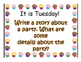 Journey's Lesson 10 A Cupcake Party Powerpoint
