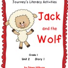 Journeys® Literacy Activities - Jack and the Wolf- Grade 1