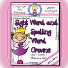 Journeys-based SightSpelling Word Crowns: Lesson 1 What is a Pal?