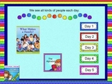 Journeys 2011 kindergarten smartboard Unit 1 lesson 1