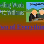 Journeys/Lesson Twenty-nine/Two of Everything/spelling powerpoint