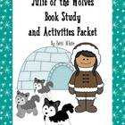 sail BTS Julie of the Wolves Book Study & Activities Packet