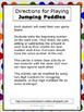 Jumping Puddles - A Fun Game to Reinforce Place Value
