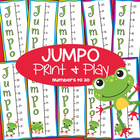 Jumpo - 3 Printable Math Games + Worksheets Numbers to 30