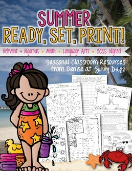 Summer Ready, Set, Print!