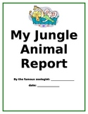 Jungle Animal Science Report