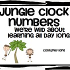 Jungle Clock Numbers