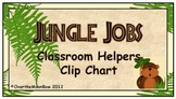 Jungle Jobs Classroom Helper Clip Chart