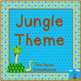 Jungle-Safari Classroom Theme