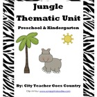 Letter J - Jungle Thematic Unit