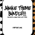 *JUNGLE THEME CLASSROOM DECOR BUNDLE!*