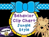 Jungle Theme Classroom Behavior Clip Chart