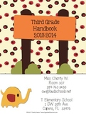 Jungle Theme Classroom Parent Handbook