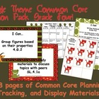 Jungle Theme Grade Four Common Core Lesson Planning Pack