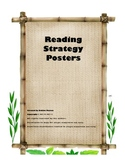 Jungle Theme Reading Strategies Posters