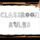 Jungle Themed Classroom Rules
