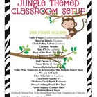 Jungle Themed Classroom Decor Bundle