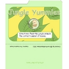 Jungle Yummies Animal Counting & Numbers Mini File Folder Game