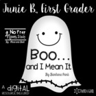 Junie B. Jones Boo and I Mean It Novel Study and Guided Re