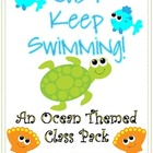 Just Keep Swimming - An Ocean Themed Class Pack with Filla