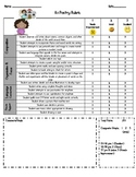 K-1 CCSS Poetry Rubric