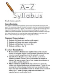 K-1 Summer School Syllabus, (24 Days)