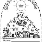 K-2 Christmas Art  Activity/December Doorknob Activities