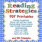 Reading Strategies PDFs Only