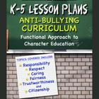 K-5 Lesson Plans: Anti-bullying Curriculum