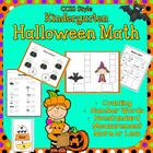 Halloween Math ~ Measurement,  More, Less,  Same, Add 1 Mo