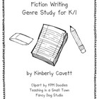 K/1 Fiction Writing Unit