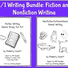 K/1 Writing Bundle: Fiction and Nonfiction
