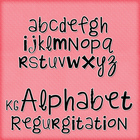 KG Alphabet Regurgitation Font: Personal Use