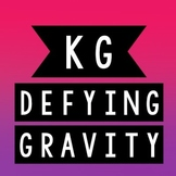 KG Defying Gravity Font: Personal Use