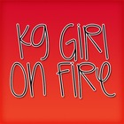 KG Girl On Fire Font: Personal Use