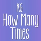 KG How Many Times Font: Personal Use