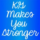 KG Makes You Stronger Font: Personal Use
