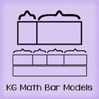 KG Math Bar Models Font: Personal Use