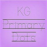 KG Primary Dots Lined Font: Personal Use